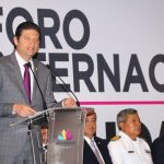 Martínez Alcázar recordó que este evento es llevado a cabo en el marco del Centenario de la Constitución Política de los Estados Unidos Mexicanos, el cual dejará grandes aportaciones y experiencias de sus participantes en las diversas mesas de trabajo a lo largo de dos días