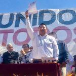 """""""Me siento contento porque como parte de las nuevas generaciones, estoy por convicción apoyando a un proyecto de considero viable para México"""": Puebla Calderón"""