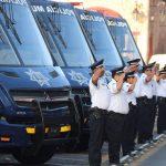 """""""En esta administración se conforma y consolida la Policía Municipal de Morelia, ya que anteriormente no había elementos que cuidaran de los ciudadanos"""": Martínez Alcázar"""