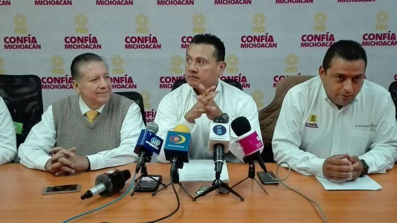 La dirigencia estatal del PRD pidió a los actores políticos reservarse comentarios para no confundir a la militancia