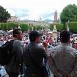 El líder de la CNTE en Michoacán, Víctor Zavala advirtió en días pasados que no se detendrán ante las acciones de la Federación