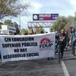 Denuncian recorte presupuestal de 391 millones de peso a la Universidad Michoacana FOTO: Francisco Alberto Sotomayor
