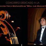 Piezas para viola y orquesta, con la participación del solista Mario Rodríguez Gutiérrez