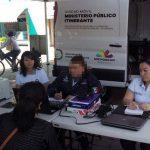 En Santa Ana Maya brindó servicios de información