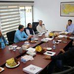 En el encuentro, los productores pidieron apoyo para seguir reduciendo los índices en materia de robos y extorsiones