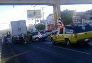 El reporte se recibió alrededor de las 8 de la mañana de este sábado, Tránsito Municipal atendió el llamado Foto Francisco Alberto Sotomayor