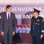 Martínez Alcázar explicó que la presencia de las fuerzas federales en Morelia, abona a la seguridad de la ciudad al mantener patrullajes constantes en colonias, que por sus características, son prioritarias