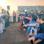 En la toma de protesta y entrega de nombramientos, acompañaron al dirigente: el alcalde se Senguio, Rodolfo Quintana; líderes de sectores y organizaciones, secretarios del CDE y militancia en general
