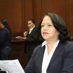 Jeovana Alcántar explicó que el gobierno estatal impulsa a favor de este sector diversas acciones, entre ellas el fortalecer el programa 3x1 para migrantes incrementando la aportación estatal