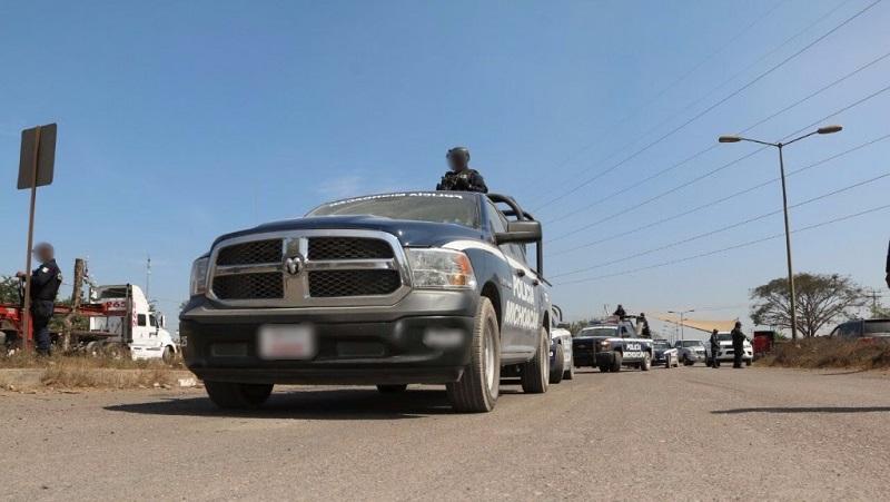 Las acciones conjuntas permitieron liberar la circulación sobre la carretera costera, que habitantes de Aquila habían estado cerrando en forma intermitente