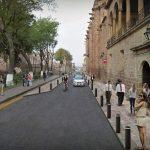 Martínez Alcázar, precisó que este proyecto contempla además de la expansión de las calles del Primer Cuadro de la ciudad, una serie de componentes como la articulación con el sistema de transporte público, la organización de comerciantes del sector y la instalación de mobiliario urbano