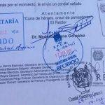 El rector de la Casa de Hidalgo, Medardo Serna González, agradeció el apoyo solidario recibido de la administración del gobernador Silvano Aureoles Conejo