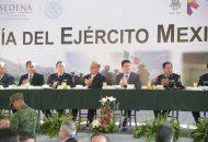 Martínez Alcázar asistió al Aniversario del Día del Ejército Mexicano