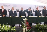 Durante su participación el general Francisco Morales Cázares manifestó que el Ejército Mexicano trabaja de manera interinstitucional con los distintos niveles de gobierno, mismos con los que colabora para reducir la incidencia delictiva