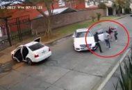 De acuerdo con la grabación, los hechos ocurrieron el pasado 17 de febrero a las 07:15 horas y hasta el momento se desconoce la identidad de la víctima