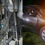 Después de revisar antecedentes de la camioneta en que viajaban los presuntos implicados, resultó con reporte de robo