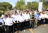 En Úspero, Parácuaro, se encuentran en proceso la construcción del parque recreativo, del Centro de salud de núcleo básico y la plaza principal