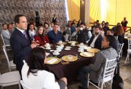 Al hacer uso de la voz, el presidente de la CANIRAC, Arturo Sandoval, reconoció y agradeció el interés del Alcalde, Alfonso Martínez, por mantener la comunicación estrecha con el sector empresarial y se pronunció por continuar en esta misma ruta para otorgar un mejor servicio a los morelianos
