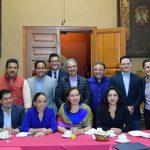 Adelantó que en la próxima reunión también se trabajará en el esquema operativo y el acercamiento con el Ayuntamiento de Morelia para definir compromisos de prevención del delito en coordinación con el Arzobispado y autoridades estatales y federales, por lo que con este encuentro ya se notan avances en la materia
