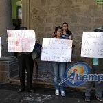 La manifestación se realizó de manera pacífica (FOTO: MARIO REBOLLAR)