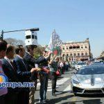 El Bash Road Tour, en el cual se exponen alrededor de 100 automóviles exóticos provenientes de diversos puntos del país, se llevó a cabo en el centro de Morelia en medio de un ambiente familiar (FOTO: MARIO REBOLLAR)