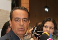 El diputado anunció que vienen ajustes en la administración del gobernador, Silvano Aureoles los cuales están por llegar al Congreso del Estado (FOTO: Mario Rebollar)
