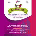 Los donativos se pueden realizar en las oficinas centrales del DIF Morelia, ubicadas en Vicente Barroso de La Escayola #135, fraccionamiento La Estrella