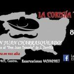La cita con Don Juan Charrasqueado está programada para los días 8, 9 y 10 de marzo del año en curso, a las 20:30 horas, en El Foro