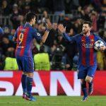 Lo del árbitro alemán Deniz Aytekin, una vergüenza, se inventó dos penales a favor del Barcelona y omitió señalar dos a favor de París Saint-Germain, el primero de ellos muy claro, además de que perdonó una expulsión a Neymar