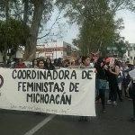 La movilización forma parte del denominado Paro Internacional de Mujeres convocado a nivel nacional para este 8 de marzo (FOTO: CORTESÍA)