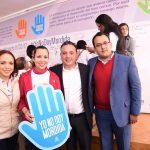 """Así lo señalaron los diputados panistas Carlos Quintana y Andrea Villanueva en el marco de la firma del Pacto """"Yo No Doy Mordida"""", una iniciativa impulsada por la COPARMEX"""