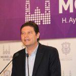 Martínez Alcázar insiste en que no permitirá que los policías municipales pagados por los morelianos sean sacados de la capital michoacana; reitera que el 100% de ellos están acreditados