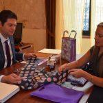 La secretaria de turismo, Thelma Aquique Arrieta adelantó que en el marco de este tianguis se promocionará la nueva página de la Secretaria de Turismo Municipal www.experienciamorelia.mx
