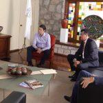 Acordaron sostener una reunión de coordinación en temas de seguridad el próximo lunes la cuál será encabezada por el Presidente Municipal y el Secretario de Gobierno