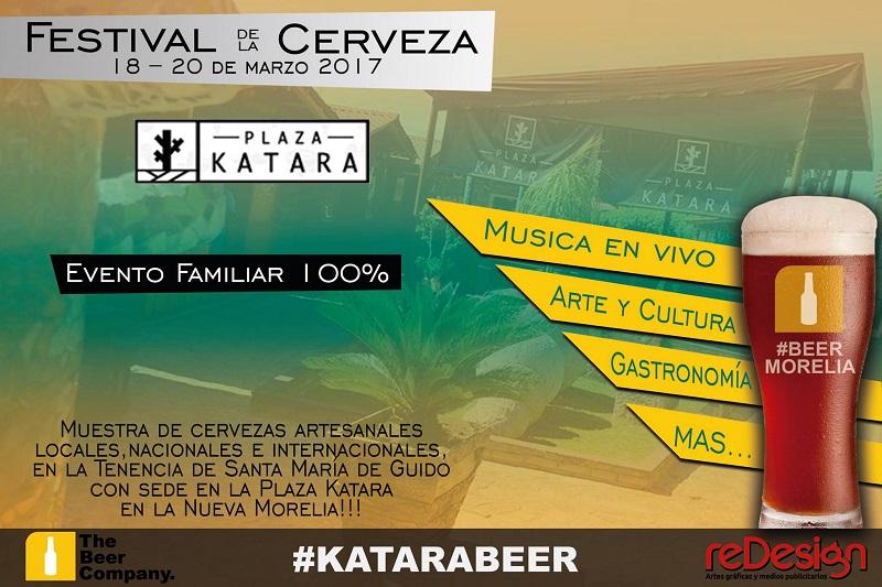 Se realizará este evento cultural para buscar el maridaje adecuado entre la diversa oferta gastronómica de la plaza comercial del sur de Morelia y más de 50 etiquetas de cerveza artesanal