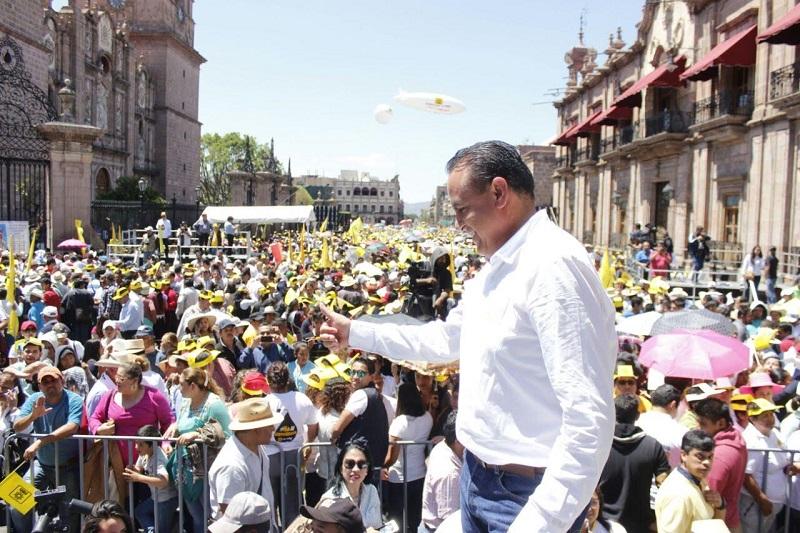 Para revertir las determinaciones que han afectado al desarrollo de nuestro país, se requiere de la construcción de acuerdos y de la unidad del pueblo mexicano, para hacer frente a las adversidades