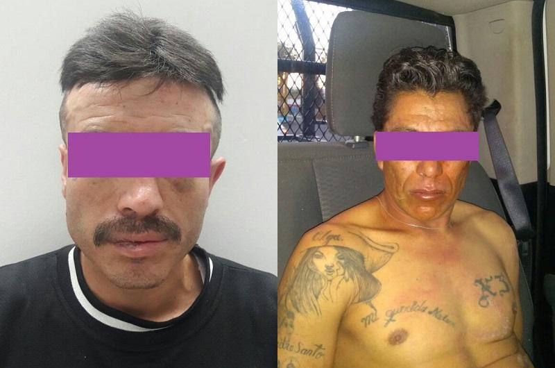 Uno de los detenidos pretendía abrir un auto, mientras que el otro es sospechoso de robo a casa habitación