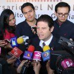 Alfonso Martínez aseguró que la reunión realizada un día antes garantiza la coordinación entre el gobierno municipal y el estatal (FOTO: MARIO REBOLLAR)