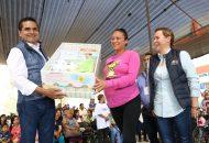 DIF Michoacán y Registro Civil también colaboraron en la caravana que llegó a Ciudad Jardín