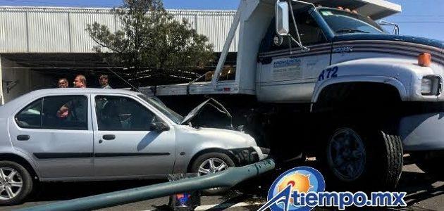 Se recomienda a automovilistas, trabajadores del volante, usuarios del transporte público tomar las debidas precauciones (FOTO: FRANCISCO ALBERTO SOTOMAYOR)