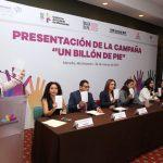 """La campaña """"Un Billón de Pie"""", es un movimiento a nivel mundial que busca generar la denuncia contra la trata y la violencia contra las mujeres y niñas"""