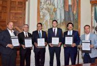 Alcaldes reconocen convocatoria del Presidente Municipal, Alfonso Martínez
