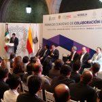 A la firma de este convenio de colaboración también estuvieron invitados los alcaldes de Hidalgo del Parral y Ciudad Juárez, Chihuahua, sin embargo, por problemas climatológicos no les fue posible realizar su viaje
