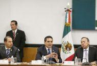 Aureoles Conejo enfatizó en que ese Modelo Policial sirva para fortalecer la facultad de los Ayuntamientos consagrada en la Constitución de garantizar la seguridad pública, es decir, construir una especie de mando mixto