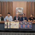 En su oportunidad, el dirigente municipal del PAN en Morelia, Javier Dávalos Palafox, aseguró que el compromiso de estar organizando eventos y jornadas culturales será permanente