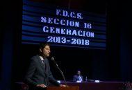 """""""Que nadie les diga que no pueden seguir preparándose"""", señaló Martínez Alcázar a los recién egresados"""