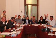 Comisiones Unidas aprueban dictamen que contiene el análisis de la Cuenta Pública Estatal y Municipal del 2015
