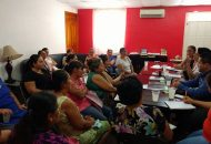 Se presentaron esquemas de financiamiento del Fondo de Garantía Agropecuaria Complementaria para el Estado de Michoacán (FOGAMICH), el cual opera Sí Financia