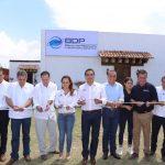 Silvano Aureoles refirió que este esfuerzo compartido de la Iniciativa Privada y del Instituto Nacional de Pesca (Inapesca) tendrá buenos frutos, por lo que el Gobierno del Estado deberá dar un seguimiento puntual y apoyos que requiera