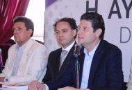 Martínez Alcázar anunció que Miguel Salmon del Real, artista con un amplio bagaje cultural y artístico, será el titular de la nueva Secretaría que se compone además dos Direcciones